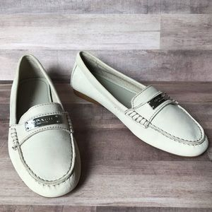 Coach Fredrica Leather Loafers Size 6.5B